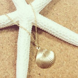 14kgf/Shell necklace