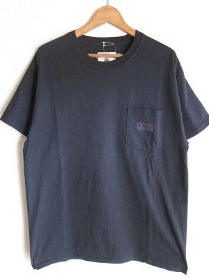 A WAGON SHOP : STASH S/S TEE<BLK>