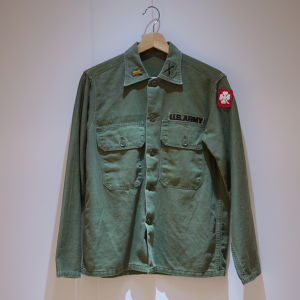 U.S.Military 1960's OG107 Sateen Shirts