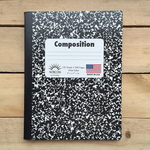 Norcom Composition Notebook Made In USA