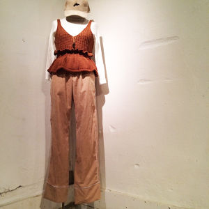 Corduroy Wide pants / Beige