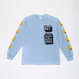 KONCOS AFTER SCHOOL L/S TEE [Light Blue]