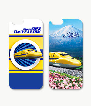 F141 iPhone6/6s対応 3Dcase class923 Dr.YELLOW/class923 Dr.YELLOW with Mt.Fuji