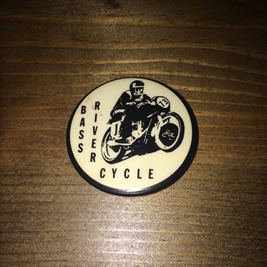 Vintage Motor Cycle Can Badge