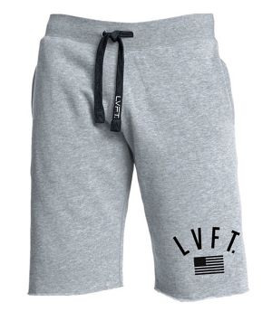 LIVE FIT USA Sweat Shorts - Grey SF700