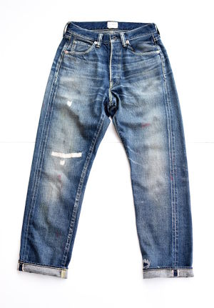 【FILL THE BILL】SIMPLIFIELD DENIM PANTS - INDIGO WASH