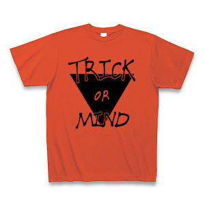 T-shirt / Trick or Mind(L) / Italian Red
