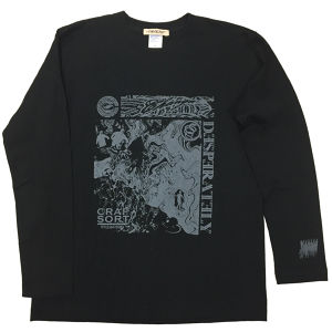 CHANGE/Long sleeve(Black x White)