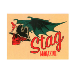 STAG magazine sticker