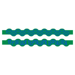SEA WAVE RUBBER BAND  Green