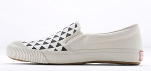SHELLCAP SLIP-ON hanelca - UROKO SUMI x OFF WHITE