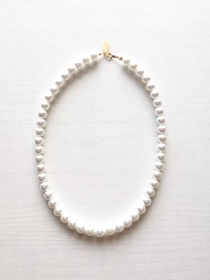 classic pearlnecklace×14kgf