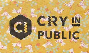 CRY IN PUBLIC PATCH