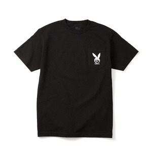 DQM LOWROLLER GRAPHIC POCKET T-SHIRT BLACK