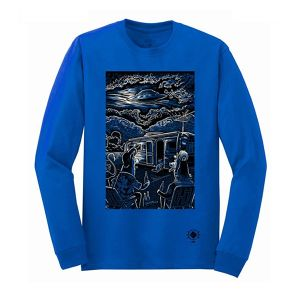 """Visitors"" Long Sleeve - Matthew Greeen"