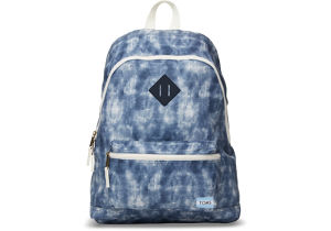 TOMS CANVAS LOCAL BACKPACK - Tie Dye Slate