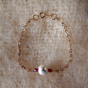 Point Star Bracelet (RED)