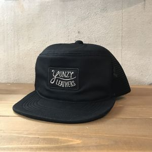 YONZY leather Tracker Cap BLACK