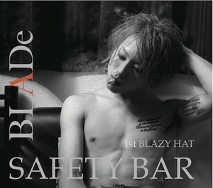 1st BLAZY HAT(タイプB)『SAFETY BAR』※限定50個