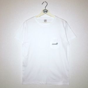 【NEW】LOGO POCKET T-SHIRTS(WHT)