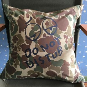 Do Not Distu(R)b Cushion - Camo rainproof