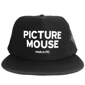 PICTURE MOUSE■メッシュキャップ(BLACK)