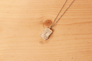 fragment / necklace / square
