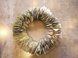 【Wreath of eucalyptus】ユーカリのリース