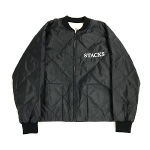 BLACK EYE PATCH QUILTING BLOUSON