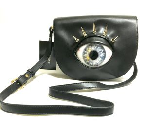 EYE SHOULDER BAG    BULE