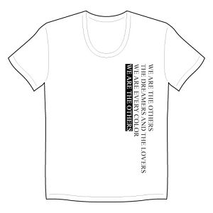 """THE OTHERS"" T-SHIRTS white"