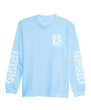 【受注予約商品】88POSSE L/S T-SHIRTS (LIGHT BLUE)