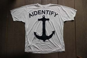 "Sun guard Tee ""ANCHOR"""