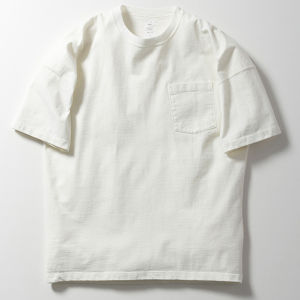 Name.【ネーム】GARMENT DYE OVERSIZED POCKET TEE