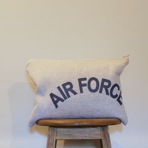 "Old sweat clutch ""AIR FORCE""②"