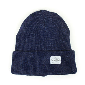 Daze'n Haze indigo watch cap