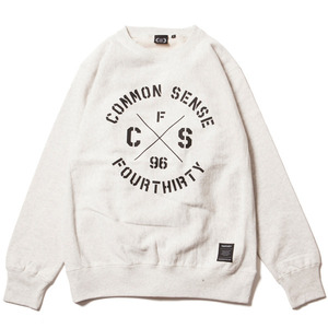 CIRCLE LOGO C/N SWEAT
