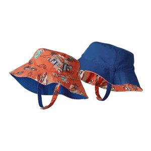 30% OFF !  Patagonia Baby Sun Bucket Hat ( CCFO カラー ) キッズ パタゴニア  サンバケットハット