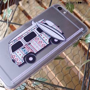 iPhone6Plus / iPhone6s Plusケース [I6PVBI01] VW BUS Indian Surf