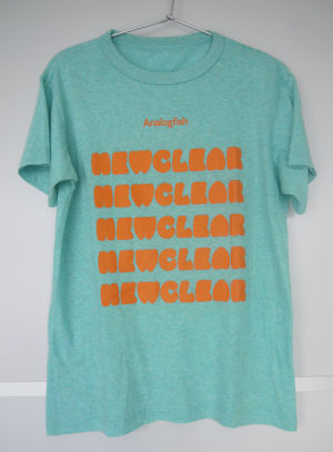 NEWCLEAR T-Shirts Orange & Green