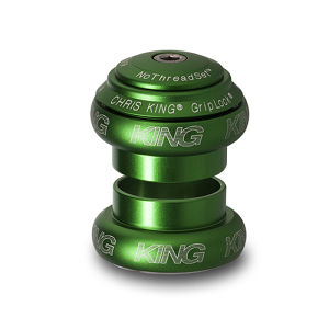 "Chris King 1-1/8"" NoThreadSet /  matte emerald(LIMITED EDITION)"