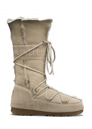 MOON BOOT W.E. VAGABOND HIGH  004BEIGE