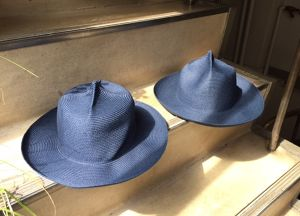"SANFRANCISCO HAT  ""4 DENT PAPER STRAW HAT(MOUNTAIN HAT)"""