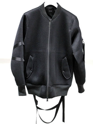 STAMPD Mesh Straooed Bomber