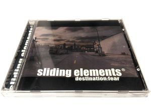 [USED] Sliding Elements® - Destination: Fear (2005) [CD]