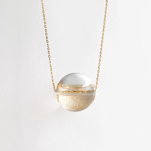 glass bubble necklace : NSQ-01