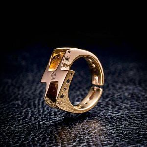 5th RING Ver.1 10K GOLD  PLAIN