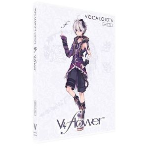 【SALE 30%OFF!】VOCALOID4 Library v4 flower (ブイフォウフラワ) 単体版