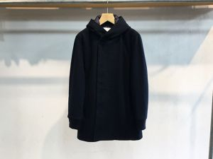 "CURLY""FROSTED HOOD COAT NAVY"""