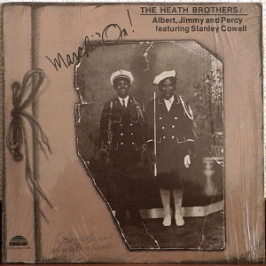 LP THE HEATH BROTHERS / MARCHIN' ON! '76 US ORIG_STRATA-EAST